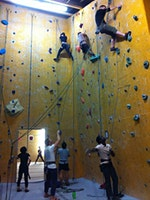Learn To Indoor Rock Climb With Fit & Fierce Over 40