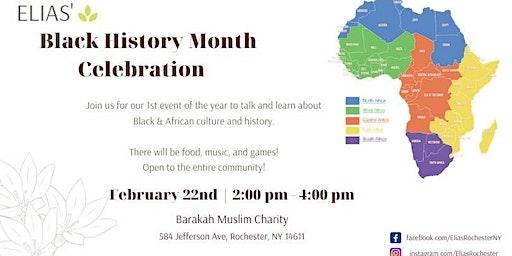 Elias Black History Month Celebration