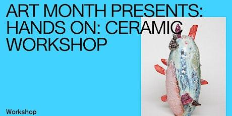 Hands on: Ceramic Workshop tickets