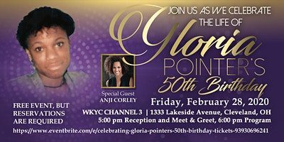 Celebrating Gloria Pointer's 50th Birthday