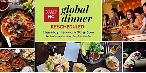 RESCHEDULED: Global Dinner at Bamboo Garden