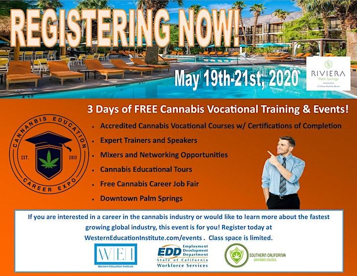 Cannabis Education & Career Expo - Palm Springs image