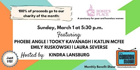 Rosie's Place Benefit show! tickets