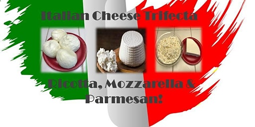 Italian Trifecta - Ricotta, Mozzarella & Parmesan!