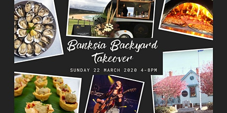 Banksia Backyard Takeover tickets