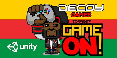 """Decoy Games Presents, """"Game On! Celebrating Black Excellence in Gaming"""" tickets"""