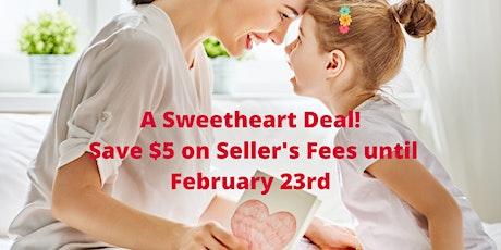 Sweet Heart Deal - Consignor(Seller) Fee tickets