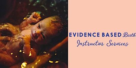 Evidence Based Birth Childbirth Education Series tickets