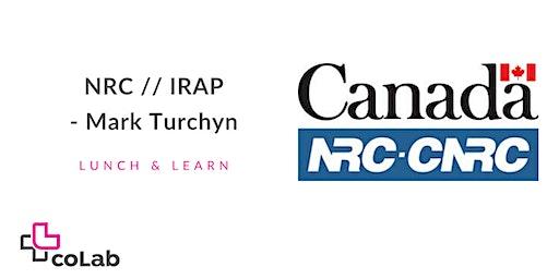 NRC - IRAP Lunch & Learn