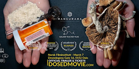DOSED Documentary - Premiere in Oslo March 7! tickets