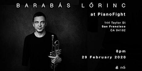 Barabás Lőrinc Live Act tickets