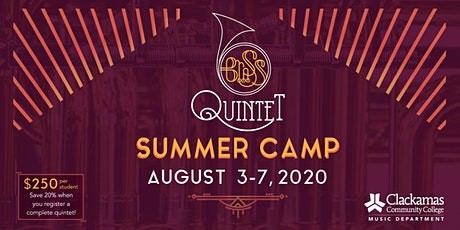 2020 Brass Quintet Summer Camp tickets