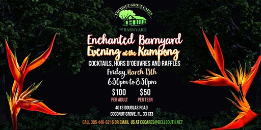 An Enchanted Barnyard Evening at The Kampong Tropical Garden