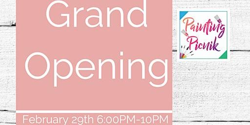 Painting Picnik Grand Opening