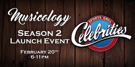 Musicology Season 2 Launch Event - Celebrities Sports Grill San Bernardino
