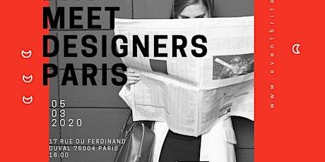MEET DESIGNERS PARIS, Paris Fashion Week boutique | Pop up Store billets
