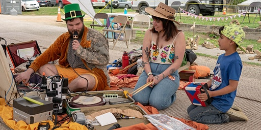 Suitcase Musik with  AUpaya & The Magick Solar Suitcases