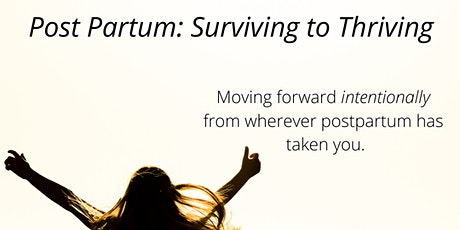 Post Partum Surviving to Thriving: Sunday, Red Deer tickets