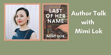 Author Talk: Mimi Lok tickets