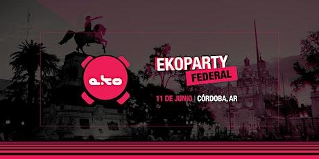 ekoparty Córdoba 2020 entradas