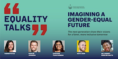 Equality Talks: Imagining a gender-equal future tickets