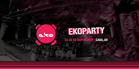ekoparty Bs. As. 2020 entradas
