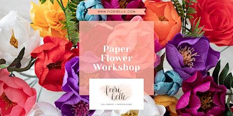 Paper Flower Workshop tickets