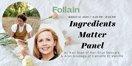INGREDIENTS MATTER with Kari Gran and Aran Goyoaga