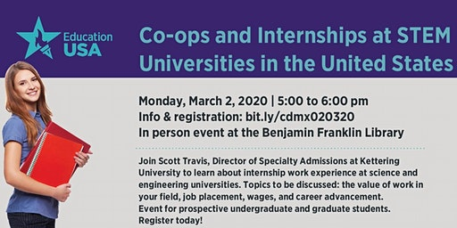Co-ops and Internships at STEM Universities in the United States
