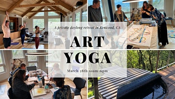 A Private Kenwood Painting and Yoga Retreat