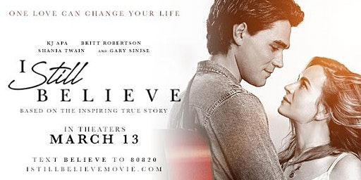 "Private Movie Premier of ""I Still Believe"""