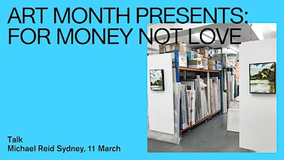 For Money Not Love: The Art of Investing in Art tickets