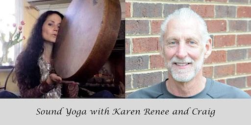Sound Yoga with Karen Renee Robb & Craig Lackey