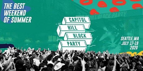 Capitol Hill Block Party tickets