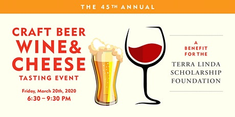 The 45th Annual Craft Beer, Wine & Cheese Tasting Event tickets