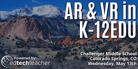 AR/VR (Colorado Springs, CO) - May 13th, 2020 tickets