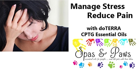 Cont Ed:  Manage Stress and Reduce Pain with Essential Oils tickets
