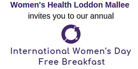 International Women's Day Free Community Breakfast tickets