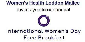 International Women's Day Free Community Breakfast