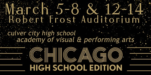 "AVPA presents ""Chicago - The Musical"" [High School Edition]"