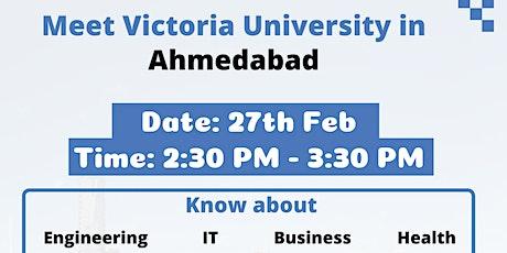Meet Victoria University in Ahmedabad tickets