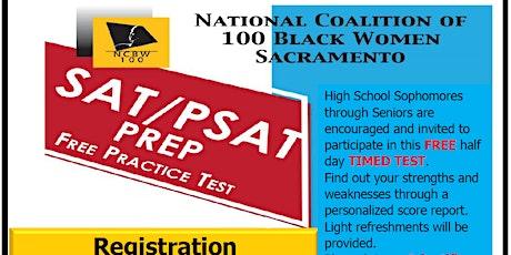 SAT/PSAT Prep - Free Practice Test tickets