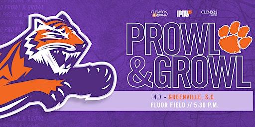 Greenville Clemson Club's Annual Prowl & Growl Sponsorships