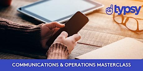 Typsy Communication and Operations Masterclass billets