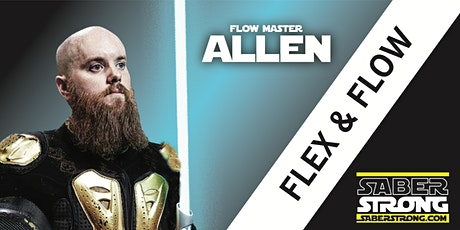 Learn To Use A Light Saber- SaberStrong Flex & Flow Class tickets