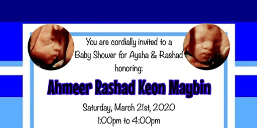 Baby Shower for Aysha & Rashad