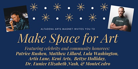 Make Space for Art: A ribbon-cutting celebration featuring celebrity and community honorees tickets