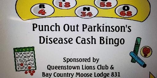 Punch out Parkinson's Disease Cash Bingo