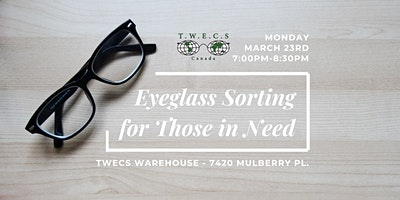 Eyeglass Sorting for Those in Need