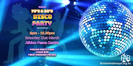 The Best of the 70s & 80s Disco Party tickets